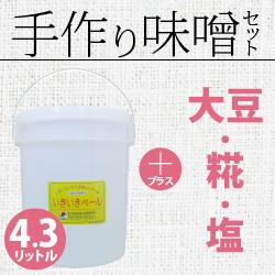 手作り味噌セット4.3リットル